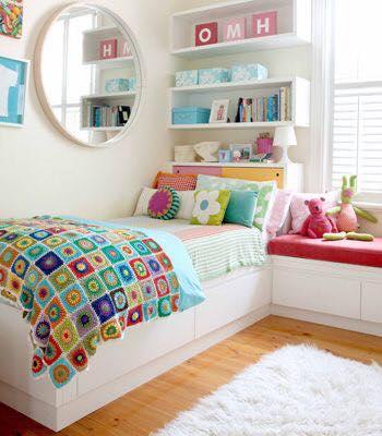 Hermosas ideas para decorar habitacion de adolescentes 13 - Como decorar una habitacion juvenil femenina ...