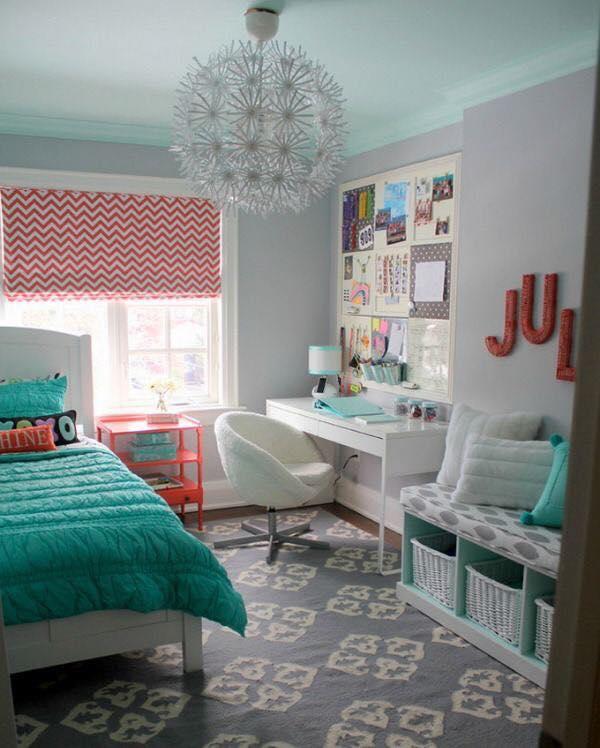 Hermosas Ideas Para Decorar Habitacion De Adolescentes 15 - Ideas-para-decorar-una-habitacion