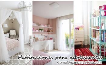 Hermosas ideas para decorar habitacion de adolescentes