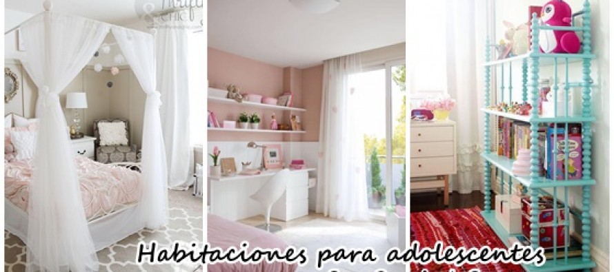 Hermosas ideas para decorar habitacion de adolescentes for Ideas para decorar cuarto de jovenes