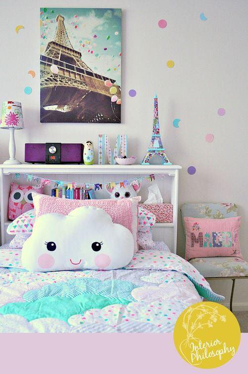 Hermosas ideas para decorar habitación de adolescentes