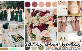 Ideas de color para bodas