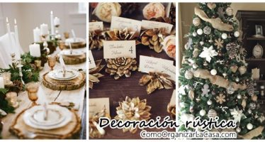 Ideas para decorar escaleras en navidad curso de for Decoracion navidena rustica