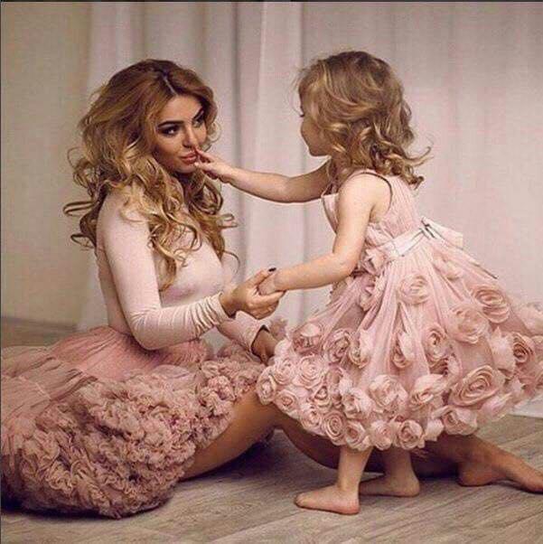 Vestidos de fiesta para mama y bebe