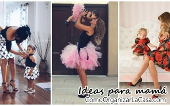 Ideas de fotos – mamá y bebé