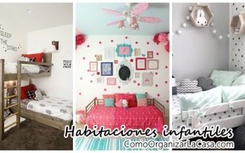 Ideas para habitacion de niños – ¡te encantaran!