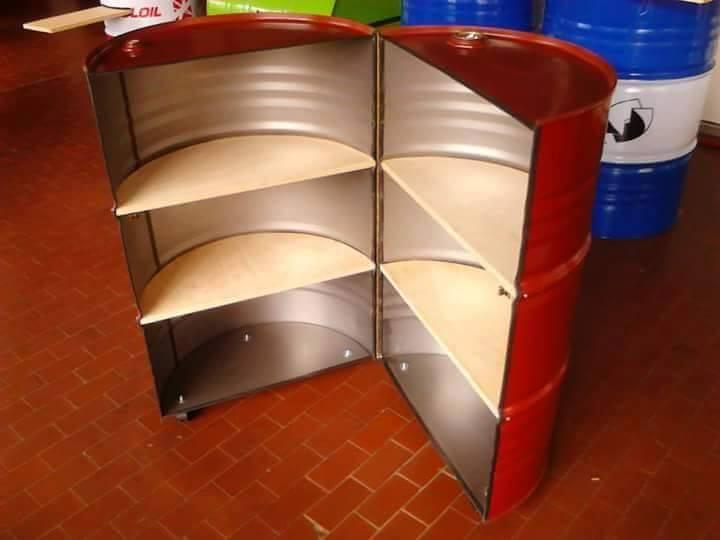 Ideas Para Reciclar Barriles De Metal 2 Como Organizar