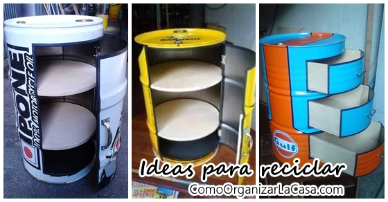 Ideas Para Reciclar Barriles De Metal - Ideas-de-reciclaje