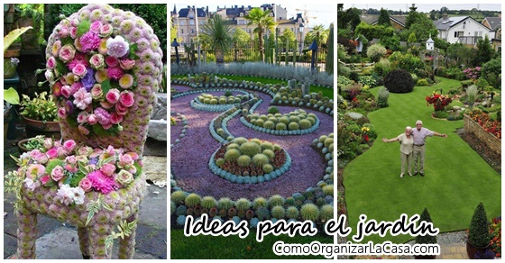 Ideas preciosas para personalizar tu jard n decoracion for Ideas para tu jardin