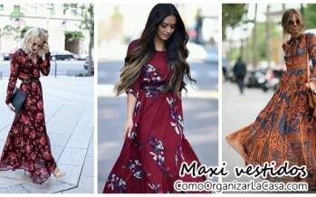 Lindos outfits de temporada – maxi vestidos