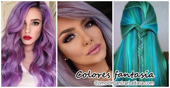 Cabello color fantasia para hombres