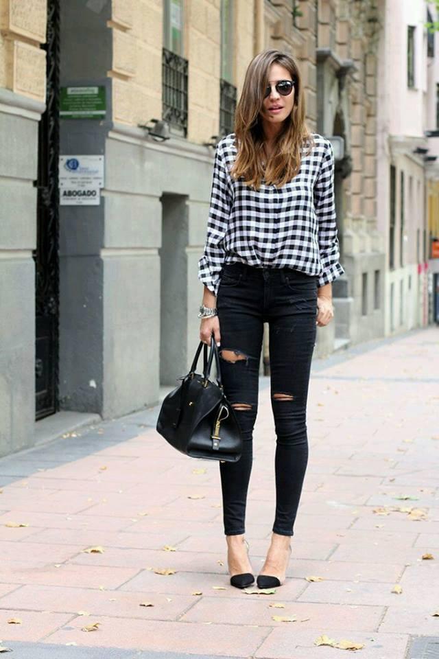 Outfits con camisas de franela