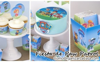 Ideas para decorar una fiesta de cumple de paw patrol