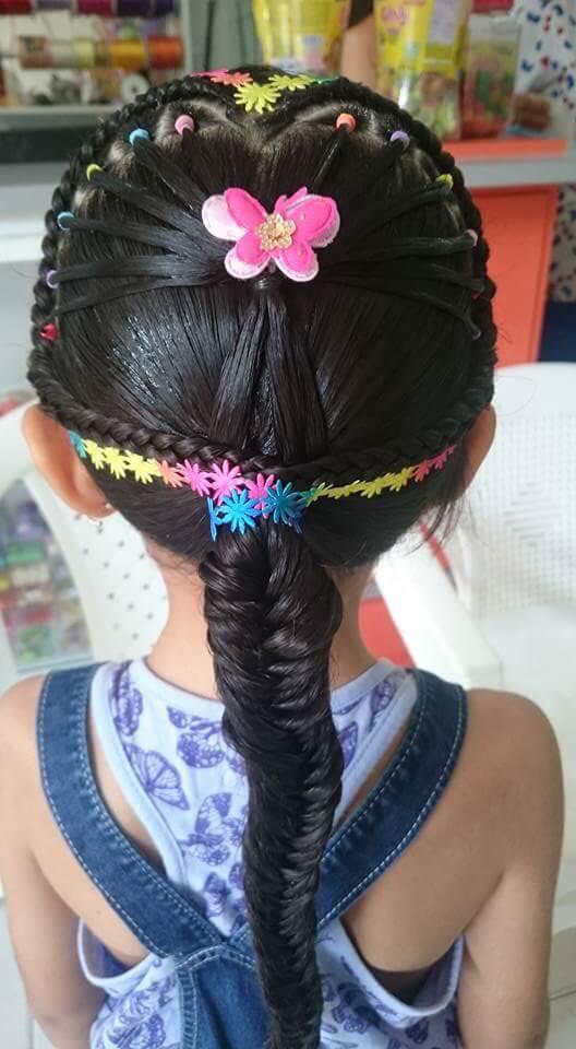 Peinados Con Trenzas Para Ninas 11 Como Organizar La