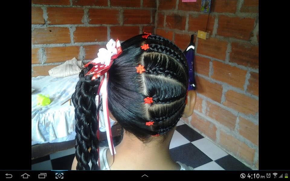 Peinados Con Trenzas Para Ninas 13 Como Organizar La