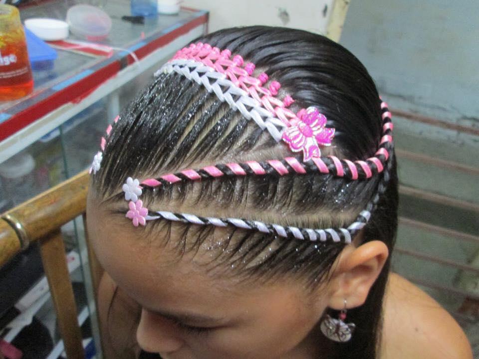 Peinados de 6 trenzas