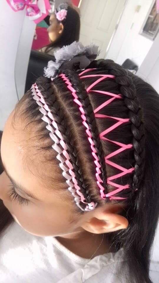 Hermoso peinados con trenzas para niñas Galería de cortes de pelo Ideas - peinados-con-trenzas-para-ninas-7 | Decoracion de ...