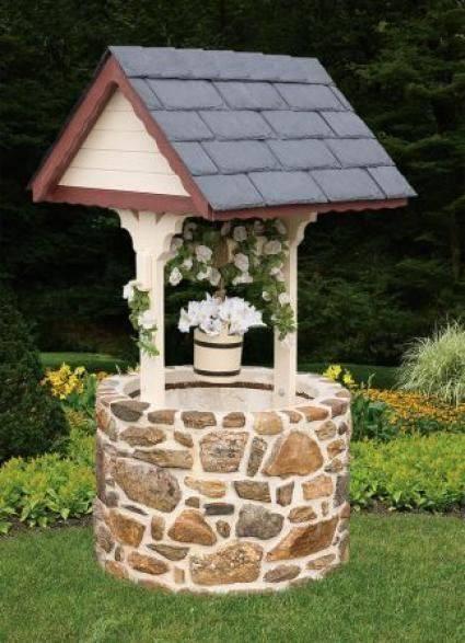 Pozos de los deseos en tu jardin ideas 16 decoracion de for Garden well designs