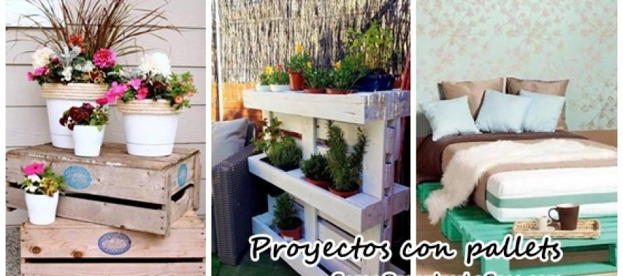 Proyectos para reciclar pallets