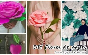 Tutoriales DIY de flores gigantes