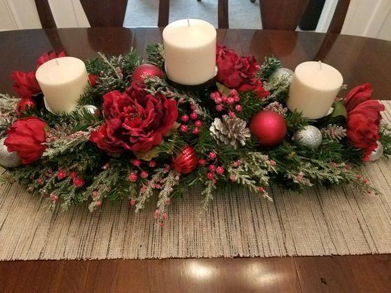 centros de mesa navideños 2