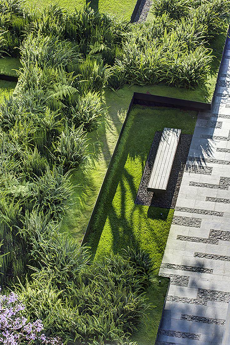 24 ideas para un jardin moderno 3 decoracion de for Como organizar un jardin en casa