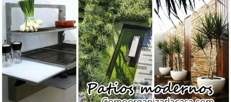 24 Ideas para un jardín moderno