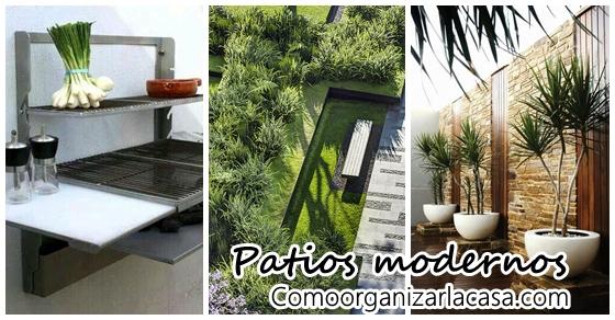 24 ideas para un jard n moderno decoracion de interiores for Decoracion jardines modernos