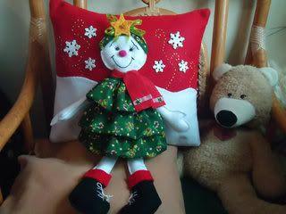 Adornos navideños 2018 - 2019 que puedes hacer con fieltro