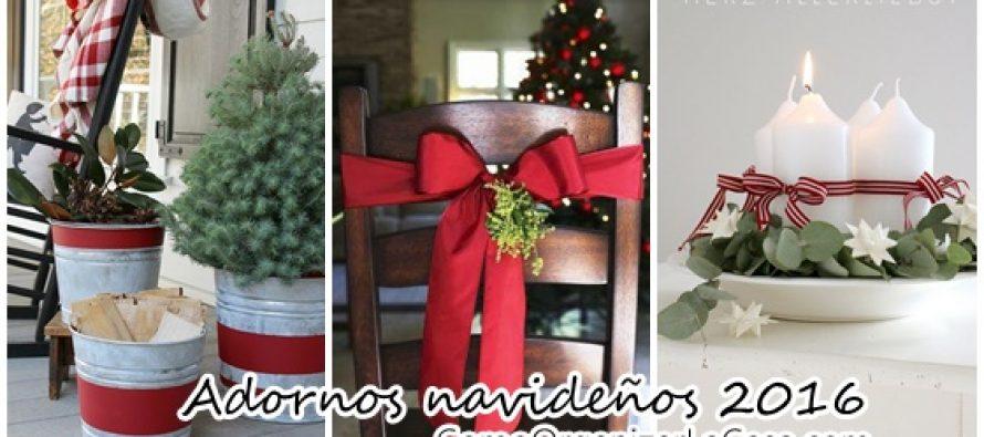 Adornos para navidad 2016 f cil de hacer curso de - Adornos navidenos para hacer en casa ...