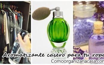 Receta casera de aromatizante para ropa – DIY