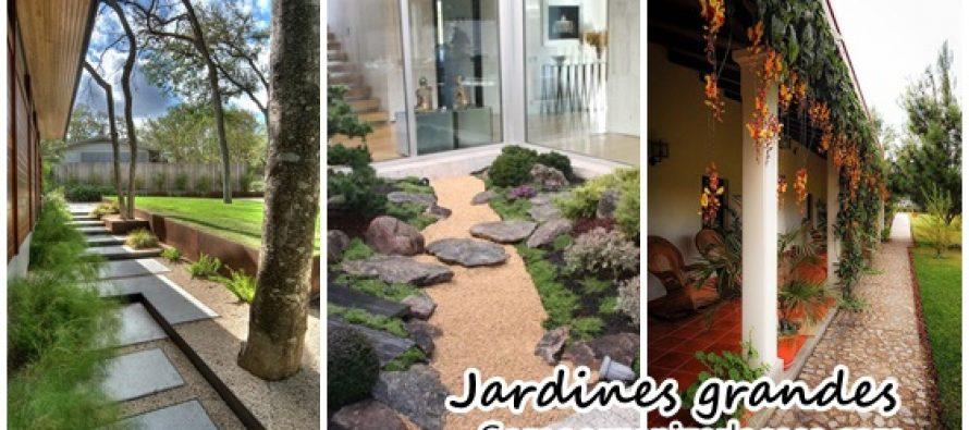Casas con jardines amplios