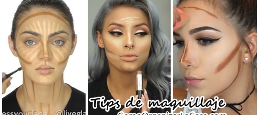 Correcciones de maquillaje que definen nuestras facciones