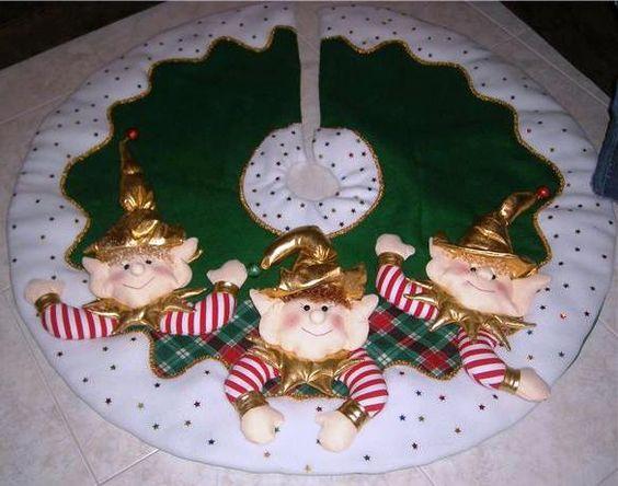 Decoraci Ef Bf Bdn Con Duendes De Navidad
