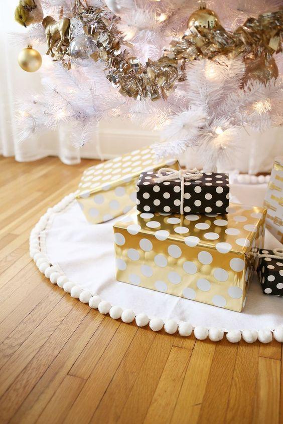 Pies de árbol para navidad 2018