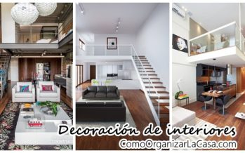 Decoración de interiores para Open livings
