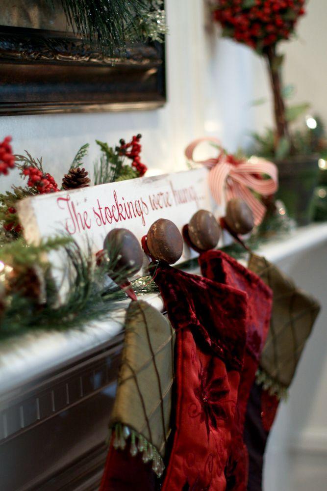 Decoración de navidad estilo rustico
