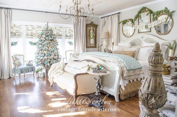 Decoracion navidena 2019 de habitaciones principales 22 for Decoracion habitaciones principales