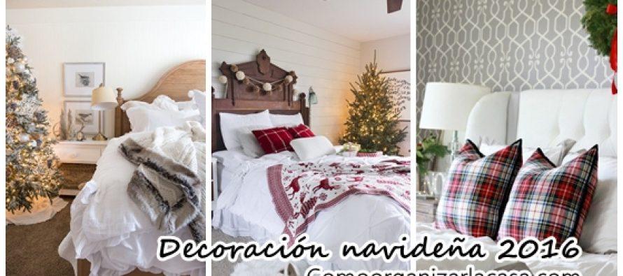 Decoración navideña 2016-2017 de habitaciones principales