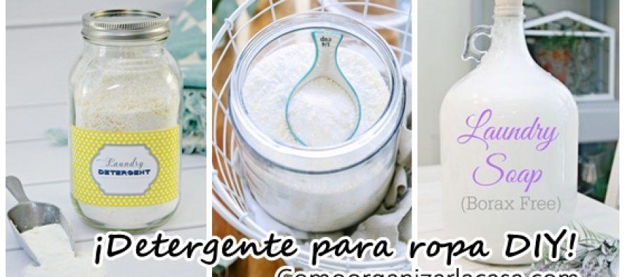 El mejor detergente casero y porqué – ¡Debes intentarlo!
