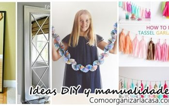 Ideas DIY y manualidades para decorar