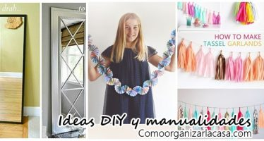 Ideas DIY y manualidades para decorar