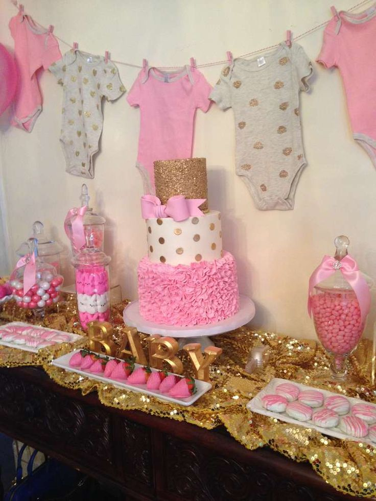 Ideas de baby shower para nina 37 decoracion de for Decoracion para pared de baby shower