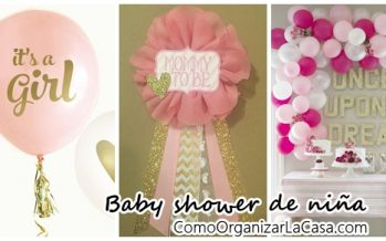 Ideas de baby shower para niña