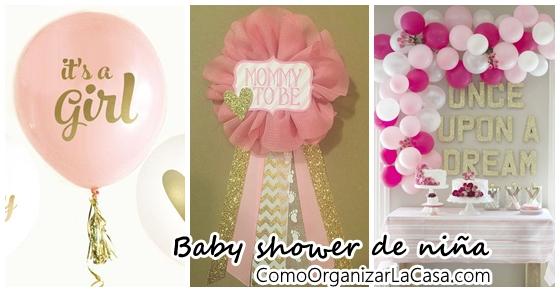 Ideas Para Baby Shower Nina Decoracion.Ideas De Baby Shower Para Nina 46 Como Organizar La Casa
