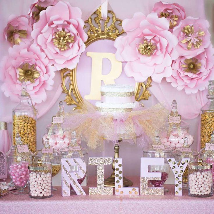 Ideas de baby shower para nina 9 decoracion de - Decoracion para nina ...