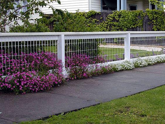 Types Of Front Garden Fencing: Ideas-de-cercas-para-tu-jardin-13