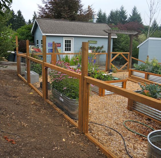 Ideas de cercas para tu jardin 16 decoracion de - Cercas de jardin ...