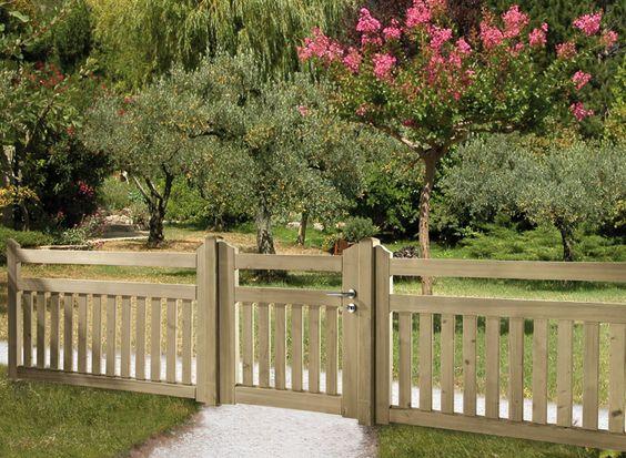 Ideas de cercas para tu jardin 19 decoracion de - Cercas para jardin ...