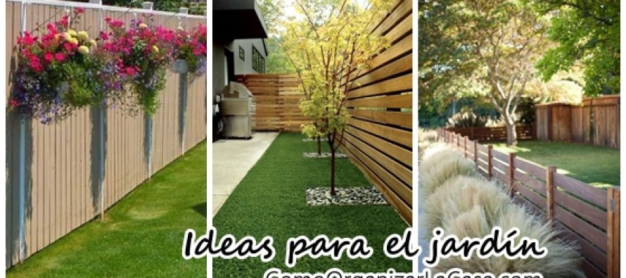 Ideas de cercas para tu jard n curso de organizacion de for Ideas para tu jardin